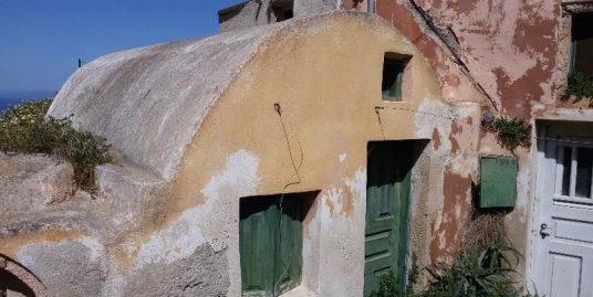 House Oia Finikia Santorini Ideal to Remodel