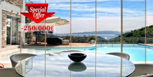 Luxury villa in Corfu, Greece Reduced Price -250.000€