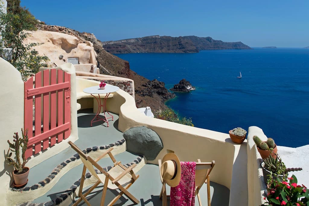 Caldera House at Oia Santorini For Sale, Property in Greece