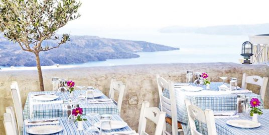 Commercial Property at Caldera Santorini Fira – 2 Stores