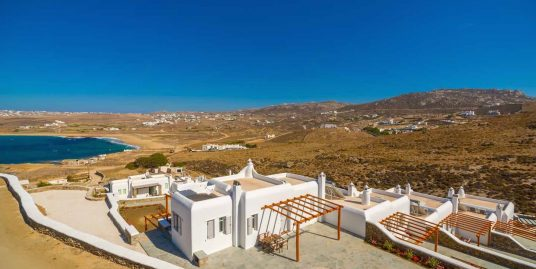 Sea View Villa Mykonos near the sea – 140 sq.m – Ftelia Beach