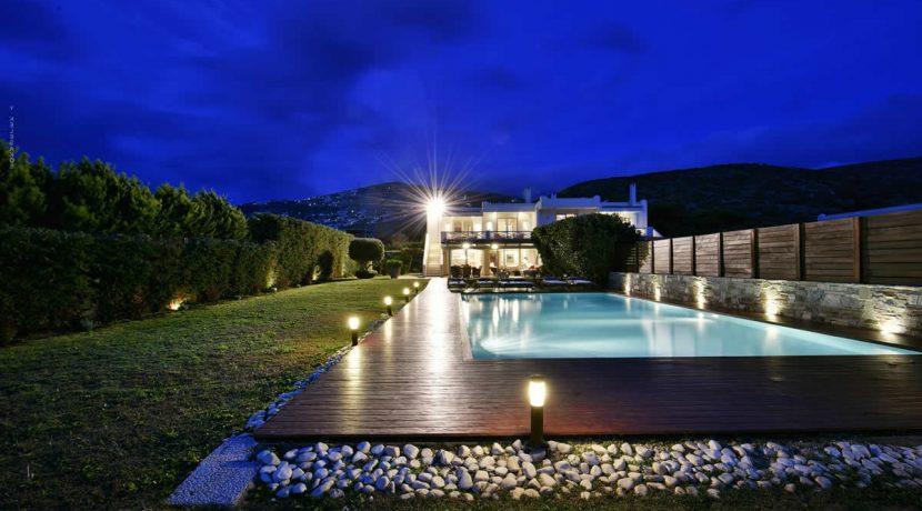 South Athens Sea View Villa - Saronida - 230 sq.m with 5 bedrooms. Luxury Estate South Athens, Luxury Villa by the sea Athens, Luxury Property south Athens