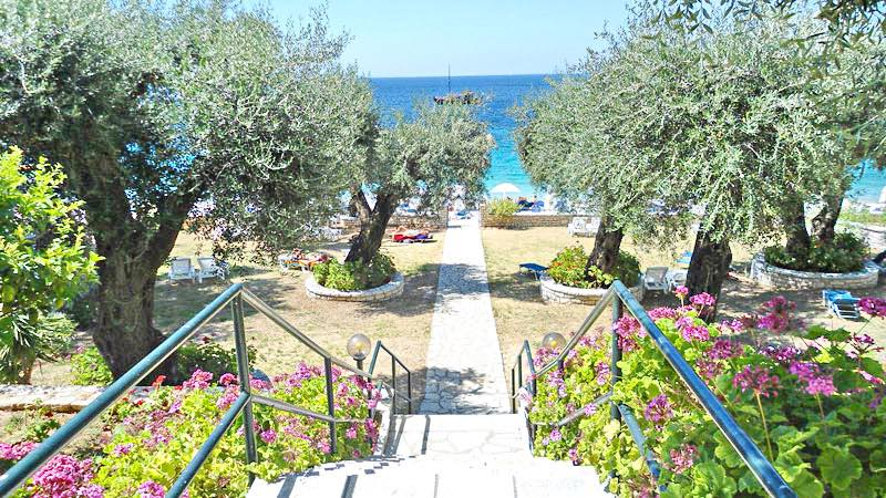 Seafront Hotel for Sale Corfu – 580 sq.m – 16 Rooms
