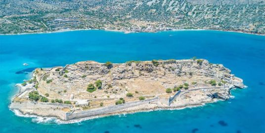 Seafront Land Plot in Elounda Crete of 42.000 sq.m Ideal for Hotel