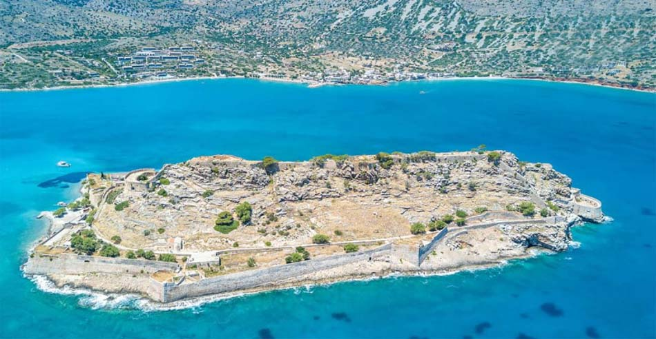 Seafront, Land Plot in Elounda Crete of 42.000 sq.m, Ideal for Hotel, Property in Greece