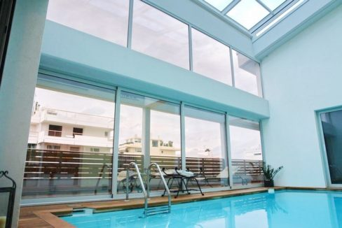 Top floor Apartment with swimming pool, in the center of Glyfada. Luxury aparmtnet at Glyfada Athens, Luxury Homes in Glyfada, Glyfada Homes for Sale 25