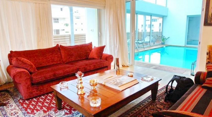 Top floor Apartment with swimming pool, in the center of Glyfada. Luxury aparmtnet at Glyfada Athens, Luxury Homes in Glyfada, Glyfada Homes for Sale 5