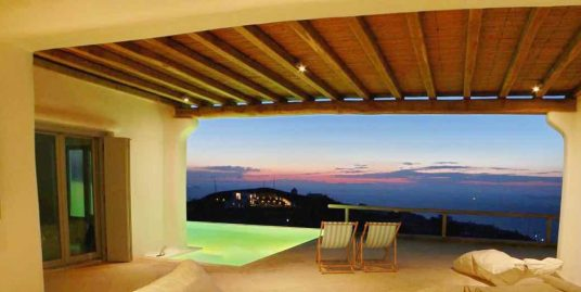 Mykonos Villa with Pool and Sea View – 213 sq.m