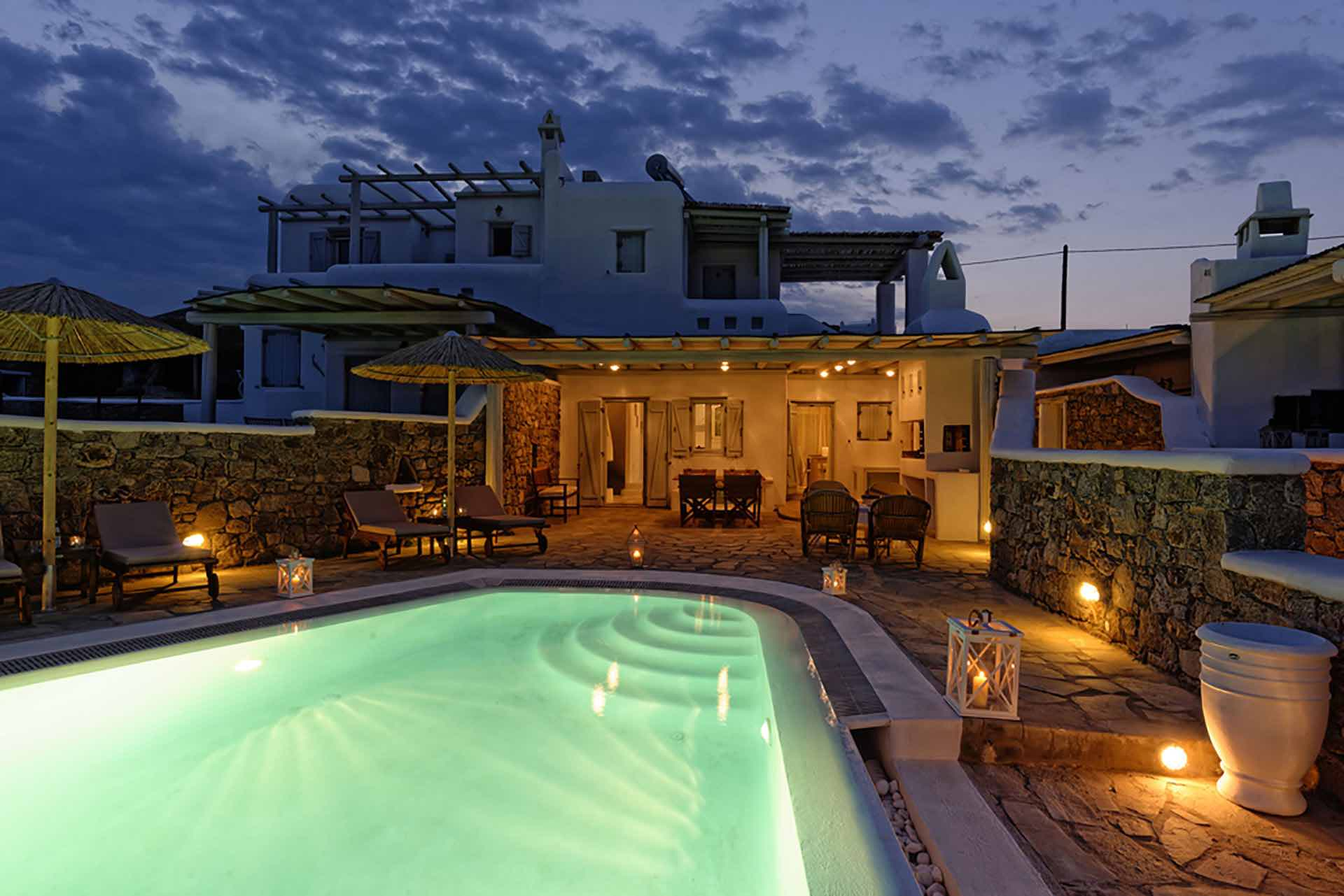 Villa with Pool and Sea View in Mykonos  – 160 sq.m