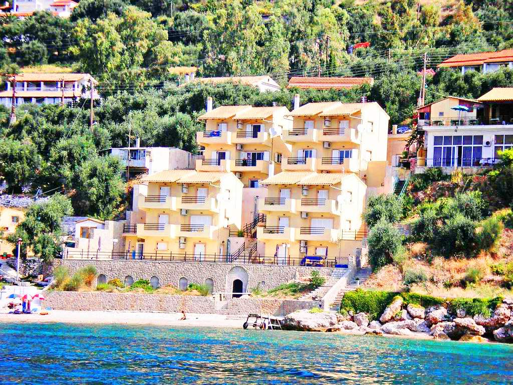 Seafront Hotel For Sale Corfu – 16 Rooms REDUCED 25%!