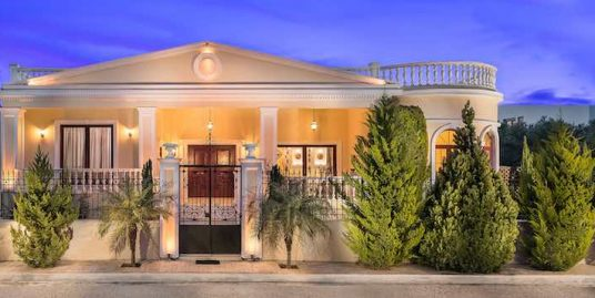Great, Luxurious ,Ancient Greek Style Villa in Crete – Chania
