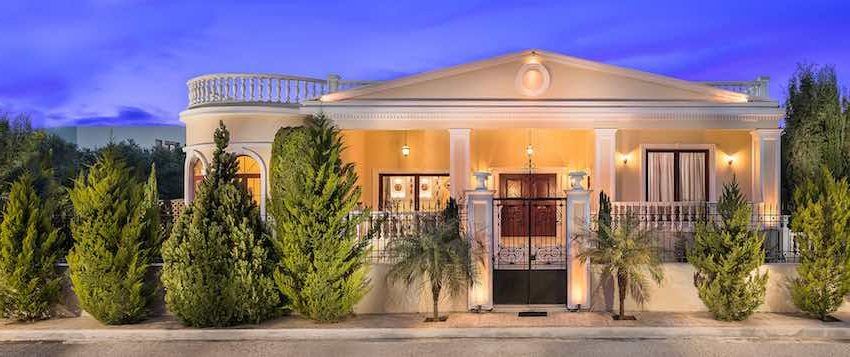 Luxurious ,Classic Greek Style Top Villa in Crete | Chania