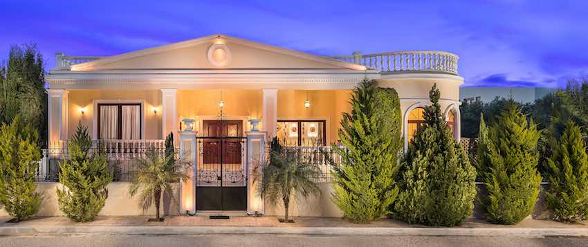 Luxurious ,Ancient Greek Style Top Villa in Crete | Chania