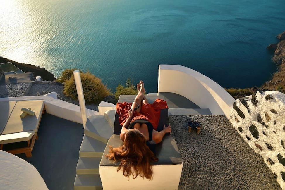 Caldera Cave Villa For Sale Santorini