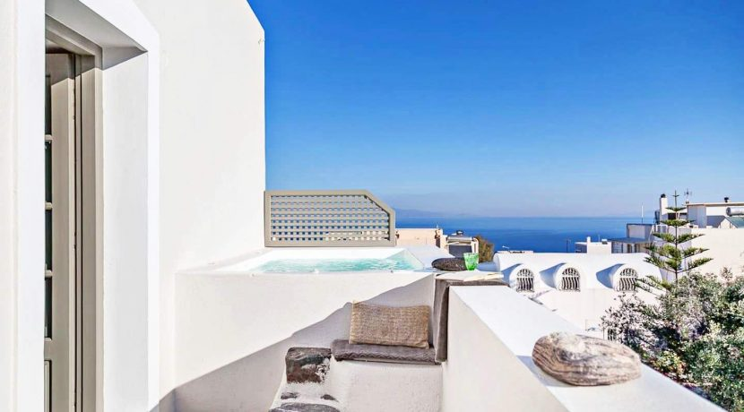 Luxury House with Pool Santorini 11