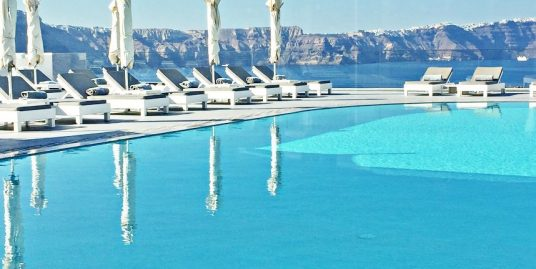 5 Star Luxury Boutique Hotel Caldera Santorini with 25 Rooms