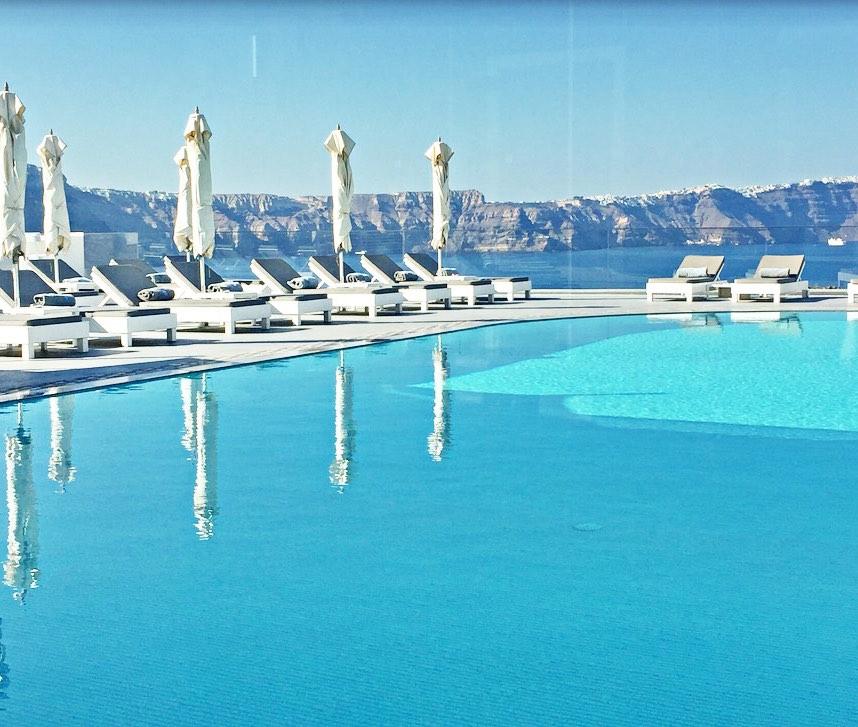 5 Star Luxury Boutique Hotel Caldera Santorini With 24 Rooms Greece