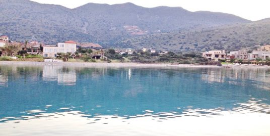 Seafront Land Elounda Ideal to Build – Crete – 5.000 sq.m Land