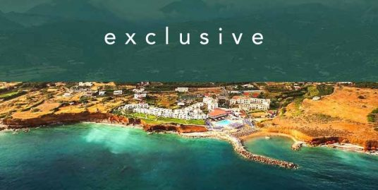 Seafront Hotel of 170 Rooms in Crete