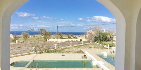 House For Sale at Santorini at Karterado with private pool and sea views