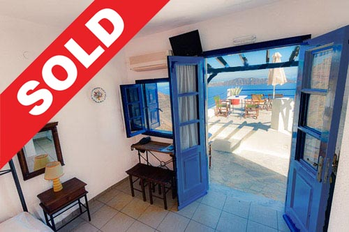 Hotel For Sale Firostefani , Caldera Santorini