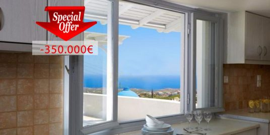 House in Santorini with 3 Bedrooms and Sea views at Pirgos area