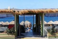 Restaurant on the Beach Santorini0