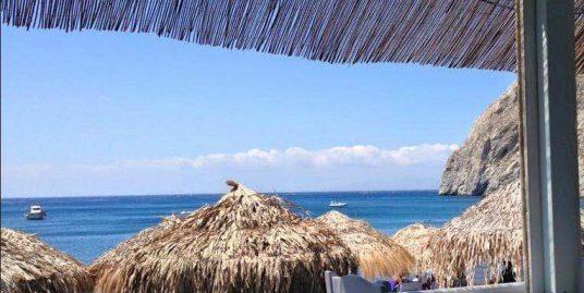 Restaurant on the Beach Santorini