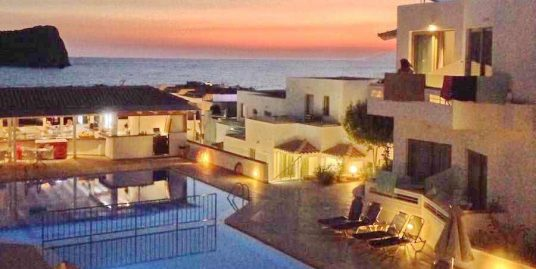 Hotel for sale in Agia Marina, Crete, 55 Rooms