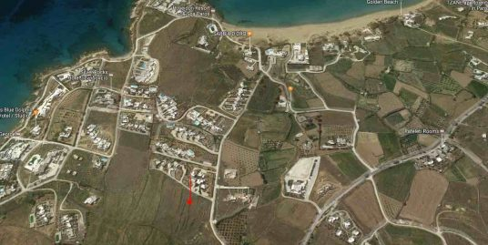 Land Plot with Sea view of 9800 sq.m Builds 810 sqm of Villas Paros Chrisi Akti