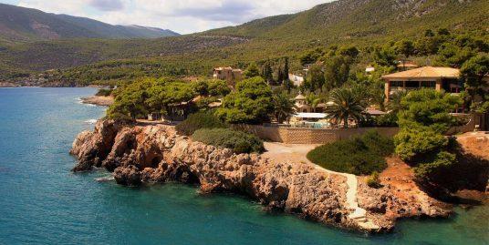 Luxury Sea Front Villa Attica – Porto Germeno