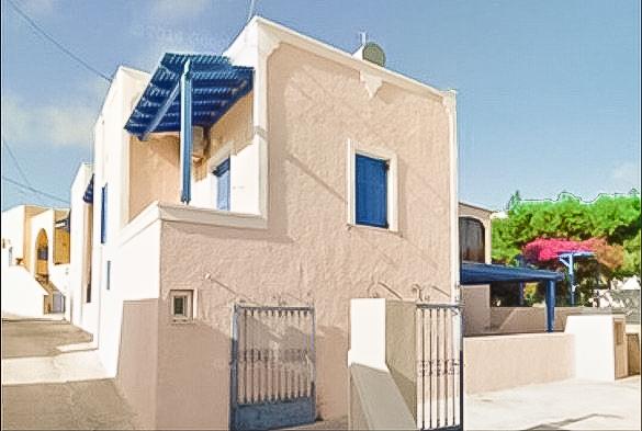 Single House at Megalohori in Santorini, House Santorini Greece 1