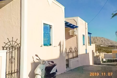 Single House at Megalohori in Santorini, House Santorini Greece 14