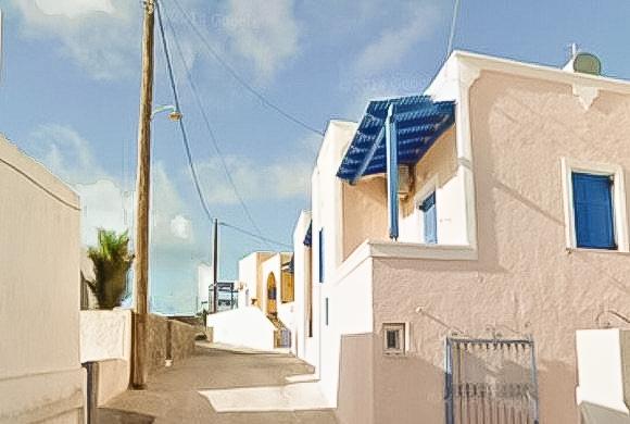 Single House at Megalohori in Santorini, House Santorini Greece 3
