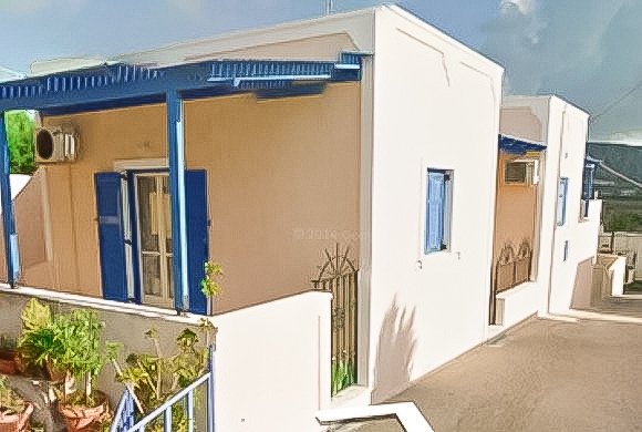 Single House at Megalohori in Santorini, House Santorini Greece