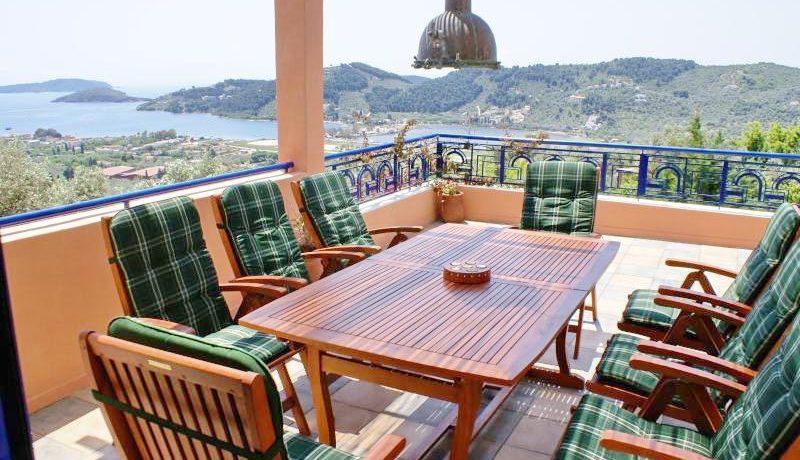 Skiathos Villa with Sea View 22