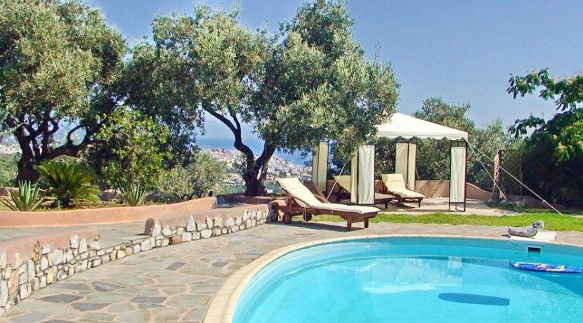 Skiathos Villa with Sea View 28