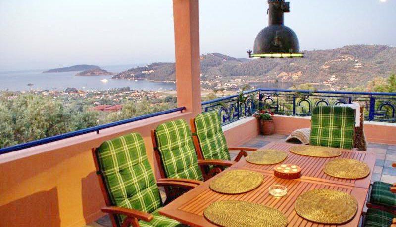 Skiathos Villa with Sea View 9