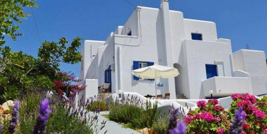 Small Hotel At Paros Near the Sea