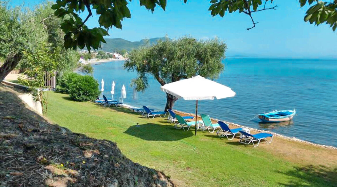 Villa 1st at the Sea at Corfu Greece, with private beach for sale