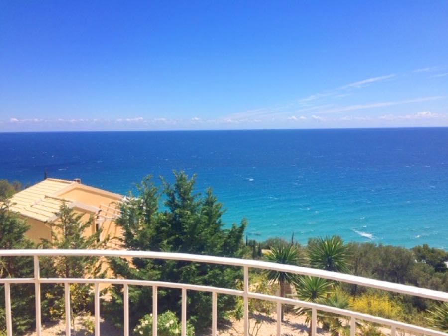 Villa with Pool and Sea view at Corfu, Close to the Sea