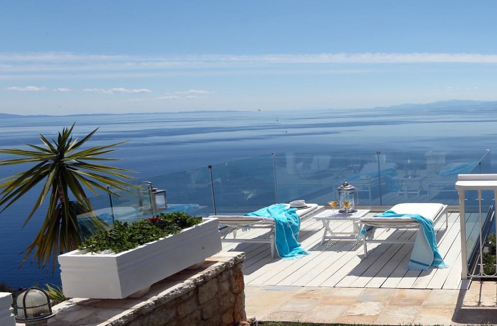 Villa at Agni beach Corfu with Stunning Views