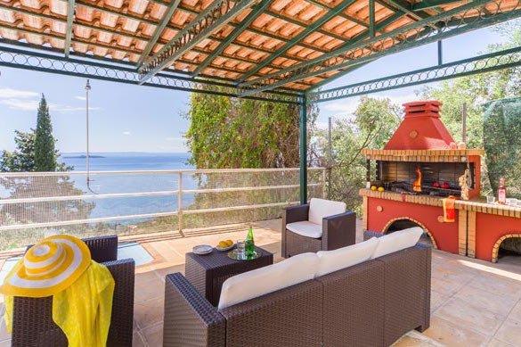 Villa at Nissaki Corfu1