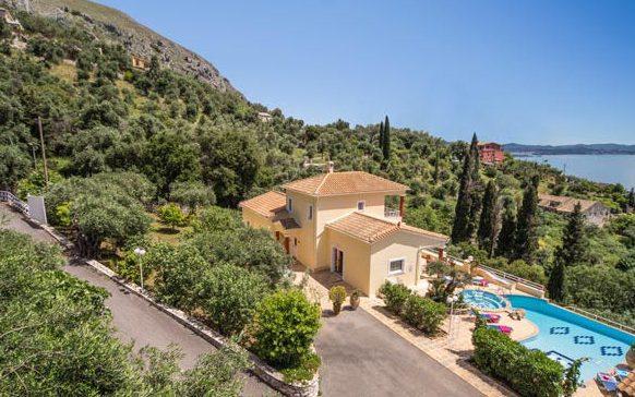 Villa at Nissaki Corfu10