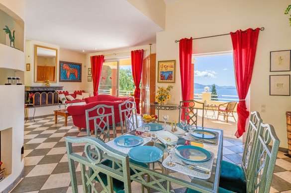 Villa at Nissaki Corfu3