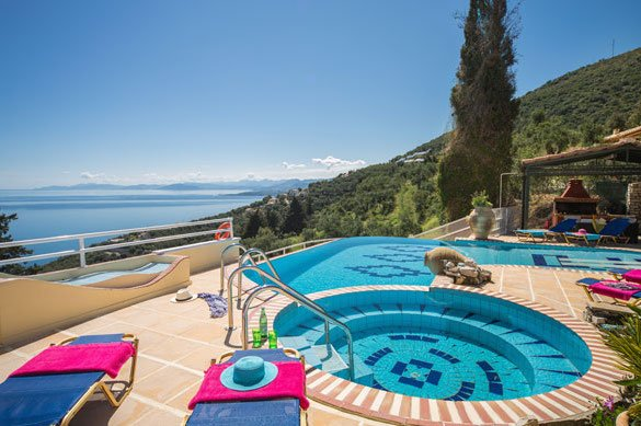 Villa at Nissaki Corfu6