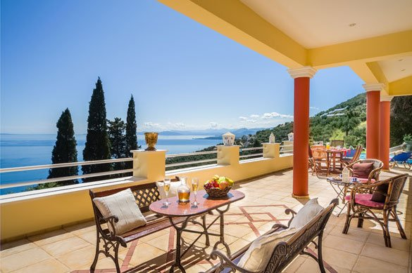 Villa at Nissaki Corfu7