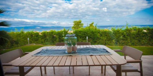 Villa at Pefkochori with sea view – 2 bedrooms