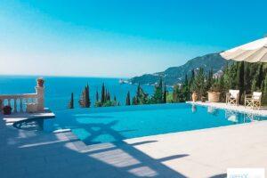 Villa with Pool and Sea view Corfu Greece, Corfu Luxury Homes