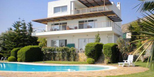 Villa for Sale with Pool and Sea View Attica, near Sounio